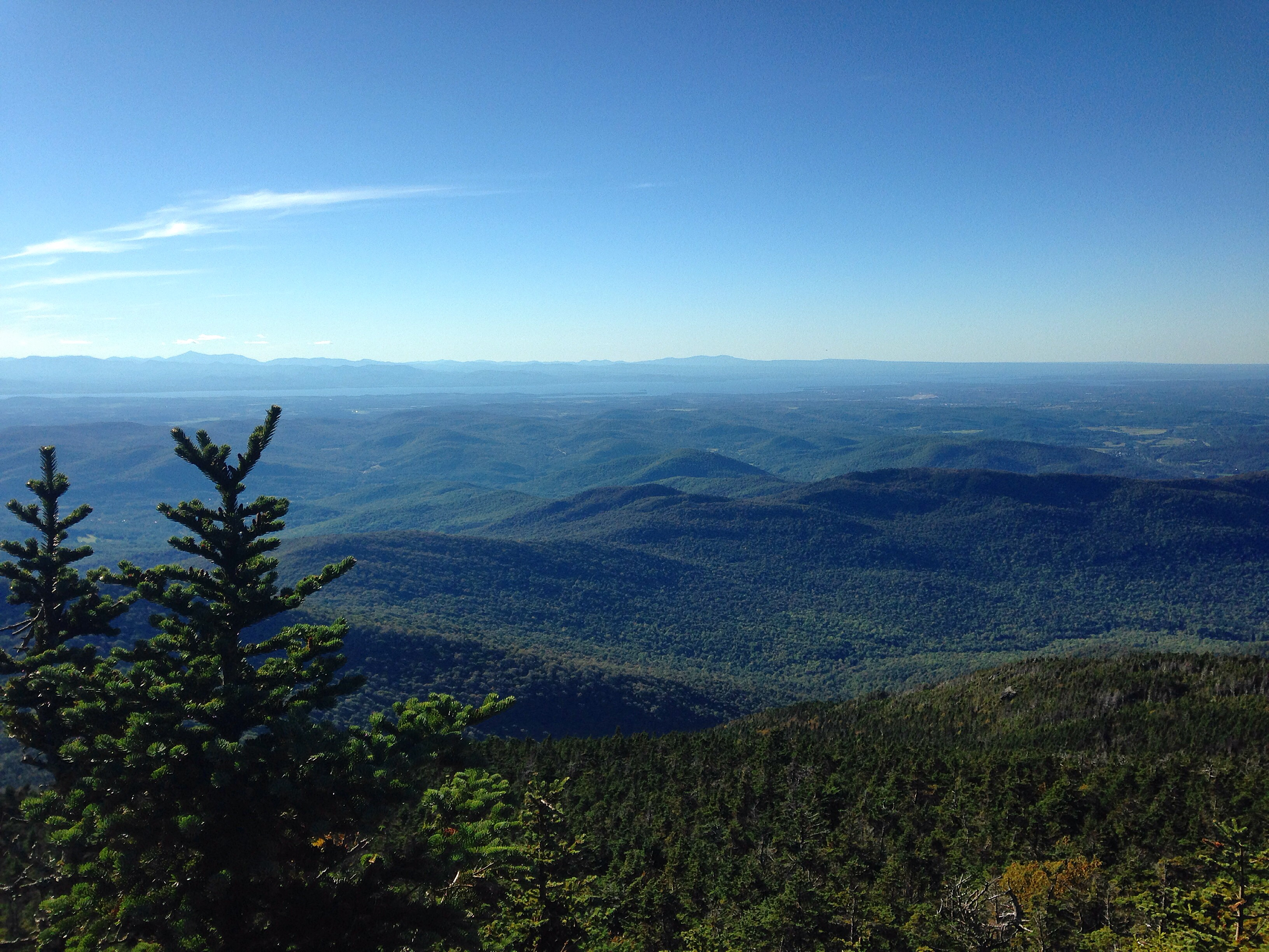 Hiking Camel's Hump Mountain in Vermont