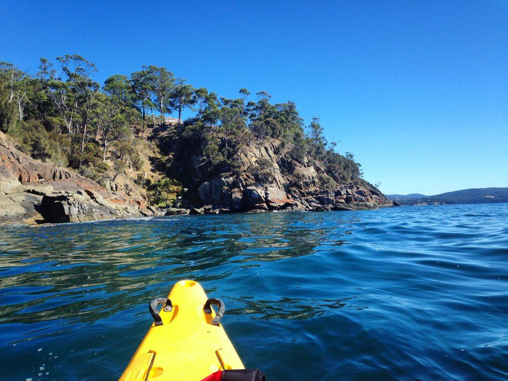 kayak tasmania australia