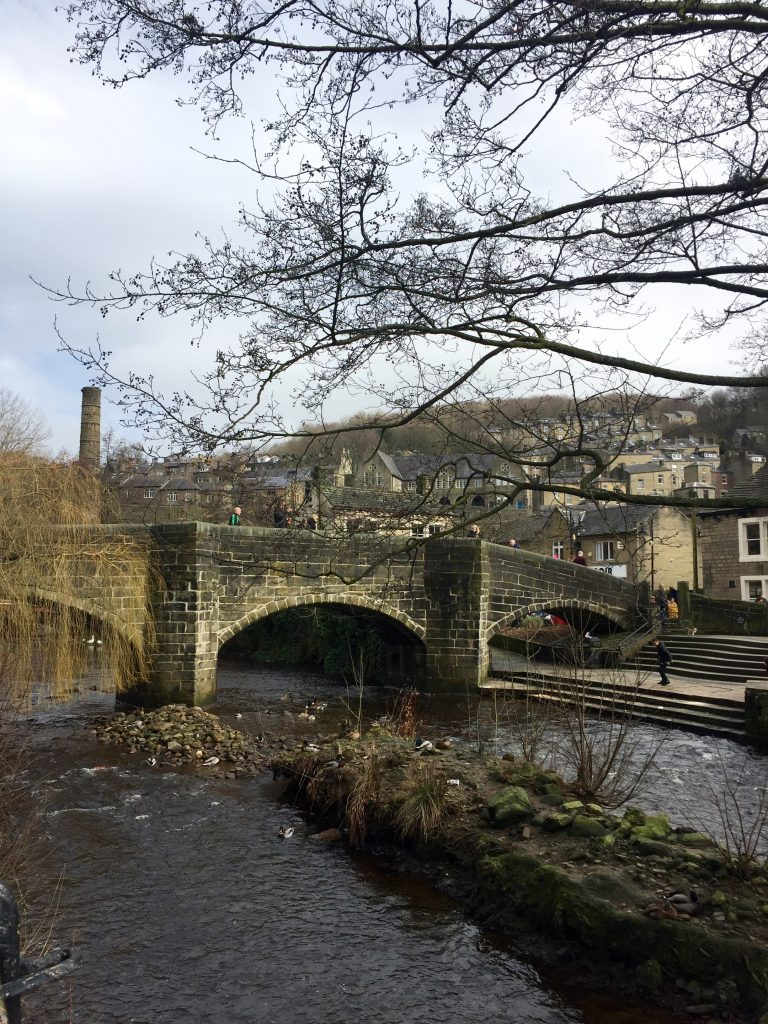 hebden bridge yorkshire countryside england uk